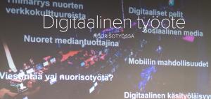 Nuorisotyön digitaalinen työote ja DistanssiMOOC -suunnittelua